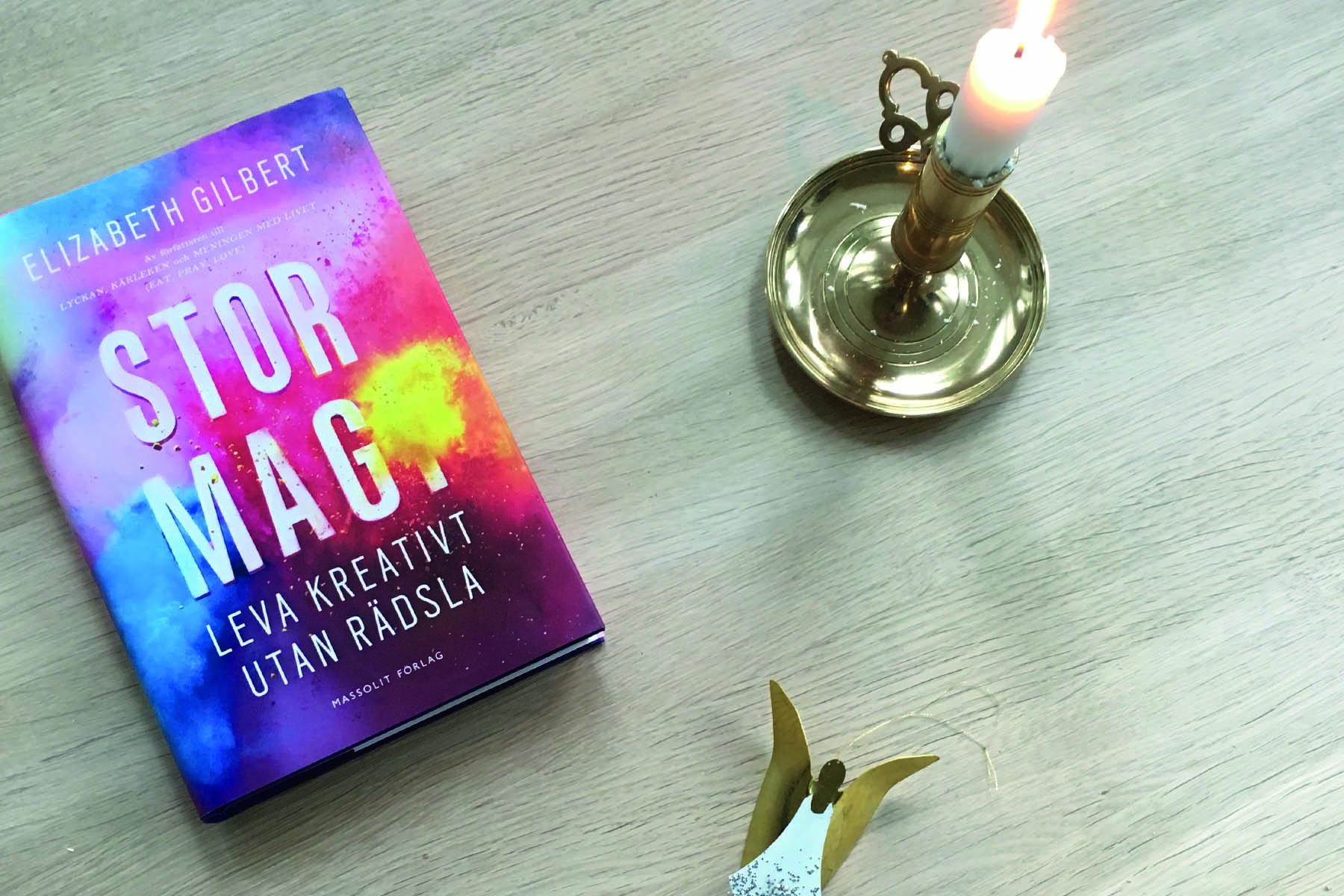 Boken Stor magi av Elizabeth Gilbert