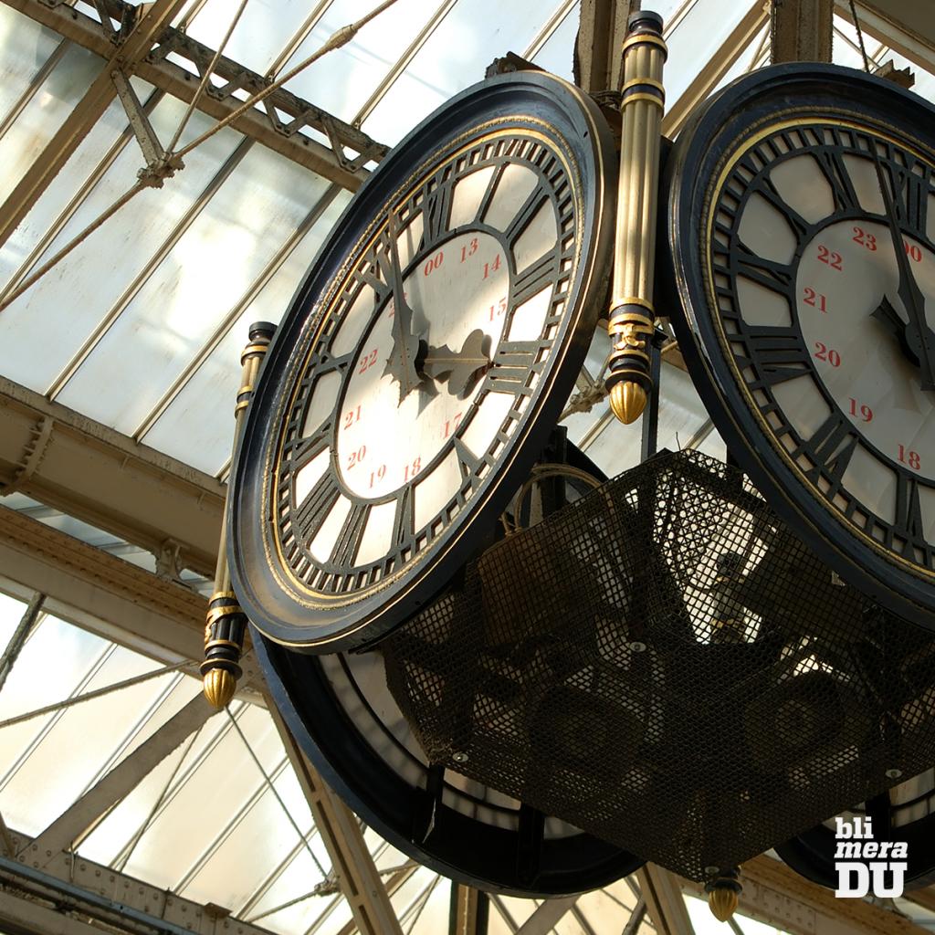 Klockan på Waterloo Station